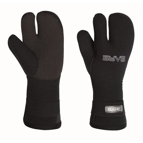 Bare 7mm Three Finger Glove