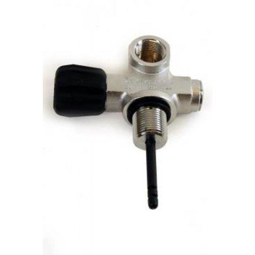 Eurocylinder Systems kraan Duikfles Second Outlet