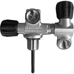 Eurocylinder Systems Kraan dubbel M25 draaibaar 232 bar