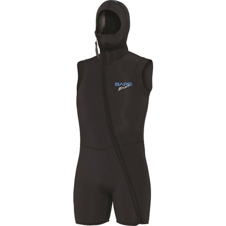 Bare 7mm Sport S-Flex Step-In Hooded Vest Men