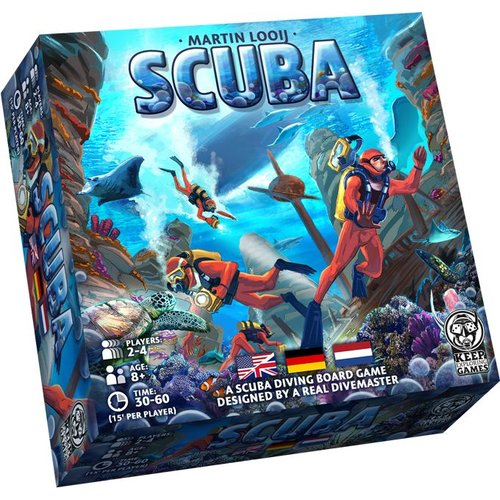 Keep Exploring Games Scuba - het Bordspel