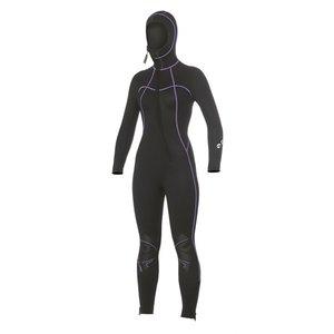 Bare 7mm Nixie S-Flex Hooded Full Black Women