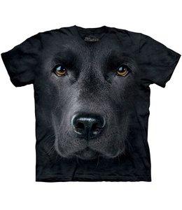 The Mountain Black Labrador Retriever Face T-shirt