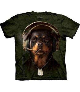 The Mountain Rottweiler DJ Sarge T-shirt
