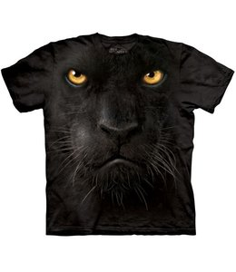 The Mountain Black Panther Face T-shirt
