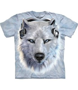 The Mountain White Wolf DJ T-shirt