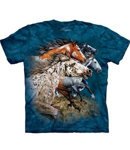 The Mountain Paarden Find 13 Horses T-shirt