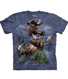 The Mountain Moose Collage T-shirt
