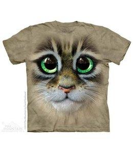 The Mountain Big Eyes Kitten Face T-shirt