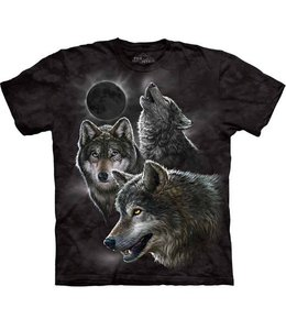 The Mountain Eclipse Wolves T-shirt