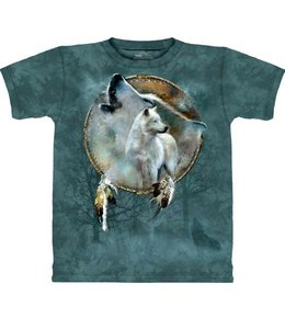 The Mountain Wolf Spirit Shield T-shirt