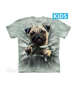 The Mountain Pug Breakthru Kids T-shirt