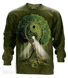 The Mountain Yin Yang Tree T-shirt Long Sleeve