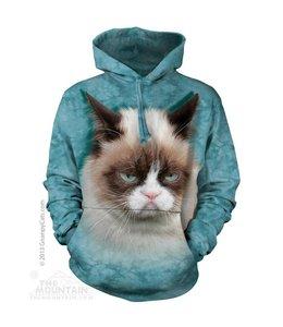 The Mountain Grumpy Cat Sweater met Capuchon