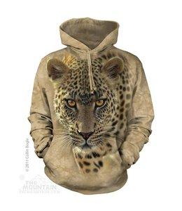 The Mountain Luipaard Sweater met Capuchon