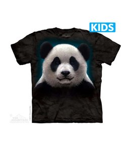 The Mountain Panda Head Kids T-shirt