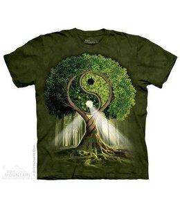 The Mountain Yin Yang Tree T-shirt
