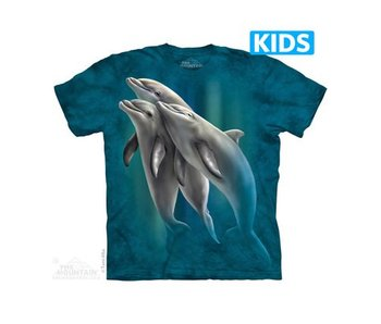 Three Dolphins Kids T-shirt