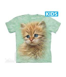The Mountain Kitten Portrait Kids T-shirt