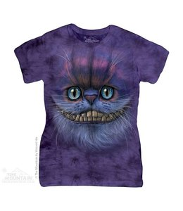 The Mountain Big Face Cheshire Cat Ladies T-shirt