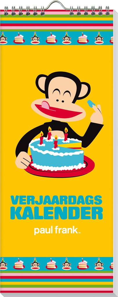 Paul Frank Verjaardagskalender