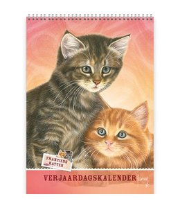 Comello Franciens Katten Best Friends Verjaardagskalender