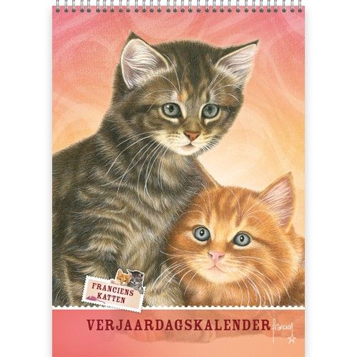 Franciens Katten Best Friends Verjaardagskalender