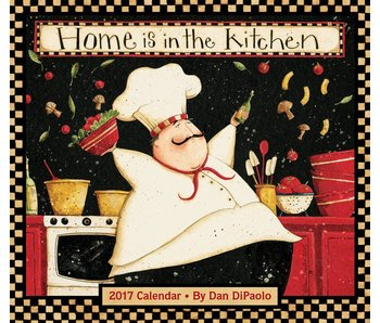 Home is in the Kitchen Kalender 2017