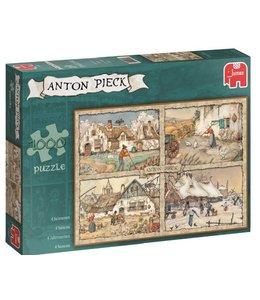 Jumbo Puzzel Anton Pieck 4 Seizoenen 1000 Stukjes