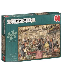 Jumbo Puzzel Anton Pieck Tentoonstelling 1000 Stukjes