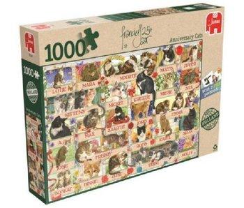 Puzzel Francien Katten 1000 Stukjes