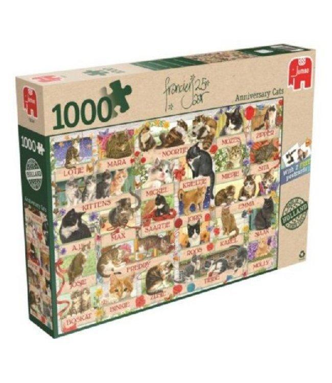 Jumbo Puzzel Francien Katten 1000 Stukjes