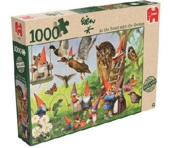 Puzzel Rien Poortvliet Kabouters 1000 Stukjes