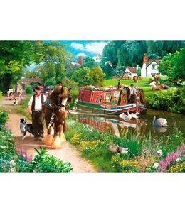 The House of Puzzles Tow Path Puzzel 1000 Stukjes