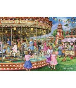 The House of Puzzles Gallopers Puzzel 1000 Stukjes