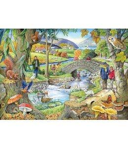 The House of Puzzles Riverside Walk Puzzel 1000 Stukjes