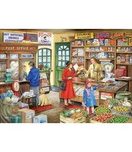 The House of Puzzles Corner Shop Puzzel 1000 Stukjes