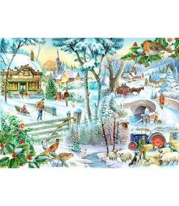 The House of Puzzles Winter Wonderland Puzzel 1000 Stukjes