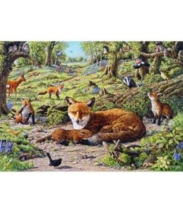 The House of Puzzles Foxley Wood Puzzel 1000 Stukjes