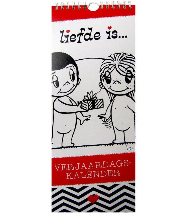 Inter-Stat Liefde is Verjaardagskalender