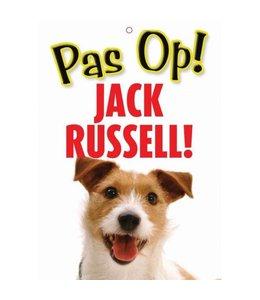 Otterhouse Jack Russell Terrier Waakbord - Pas Op