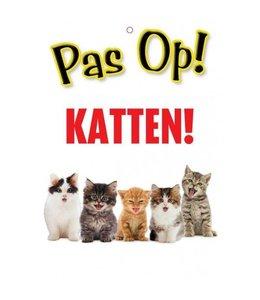 Otterhouse Katten Waakbord - Pas Op