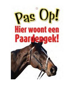 Otterhouse Paarden Waakbord - Pas Op Paardengek