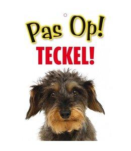 Otterhouse Teckel Waakbord - Pas Op