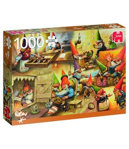 Jumbo At home with the Gnomes Puzzel 1000 Stukjes
