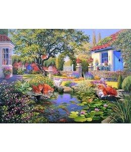 The House of Puzzles Garden Pond Puzzel 1000 Stukjes