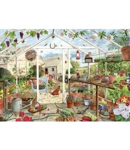 The House of Puzzles Green Fingers Puzzel 1000 Stukjes