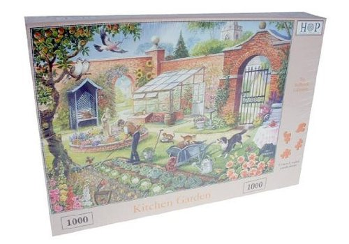 The House of Puzzles Kitchen Garden Puzzel 1000 Stukjes
