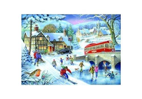 The House of Puzzles Winter Games Puzzel 1000 Stukjes