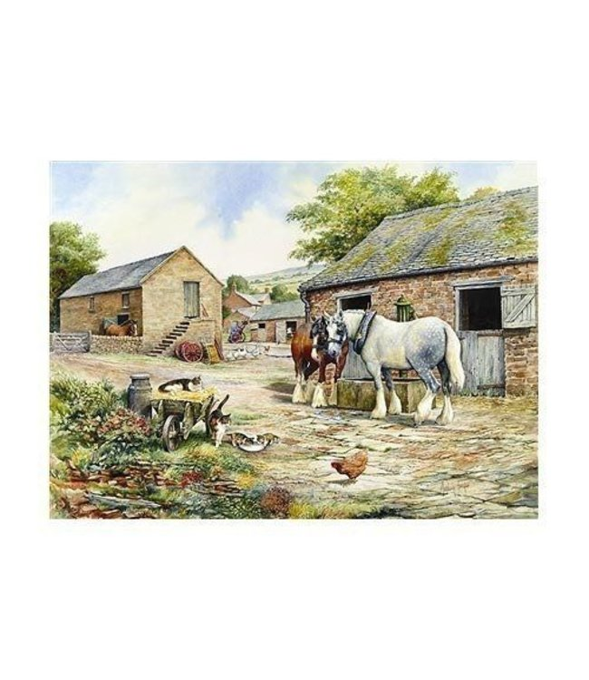 The House of Puzzles Farmyard Companions Puzzel 1000 Stukjes